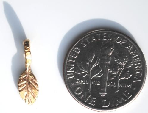 leaf coin pvc