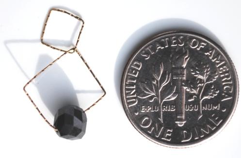 squares black coin pvc